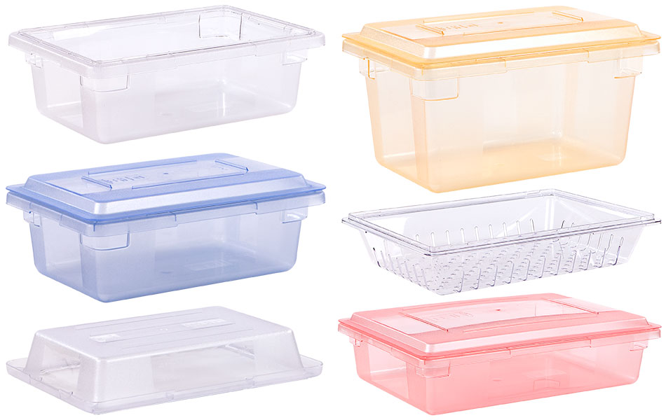Clear plastic bins by OLife Photography.
