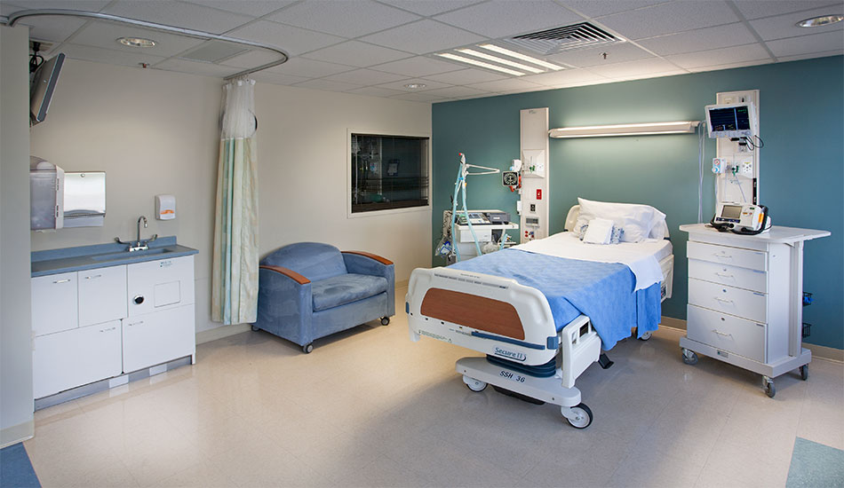 Select Specialty Patient Room