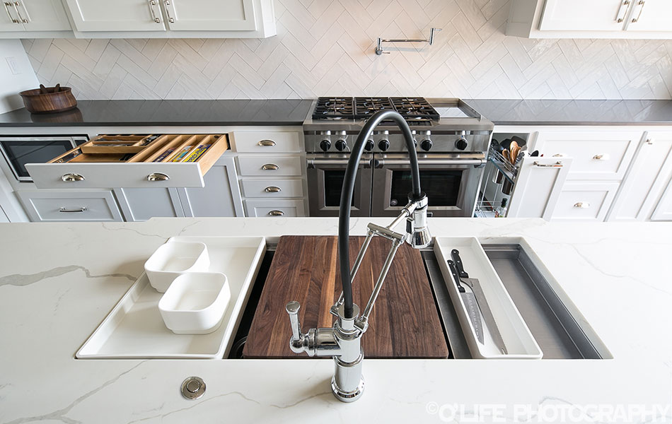 Interior Design Photography of Kitchen Functionality