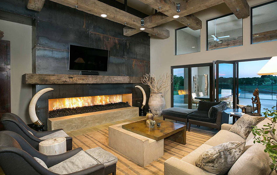 Forest Creek Fireplace