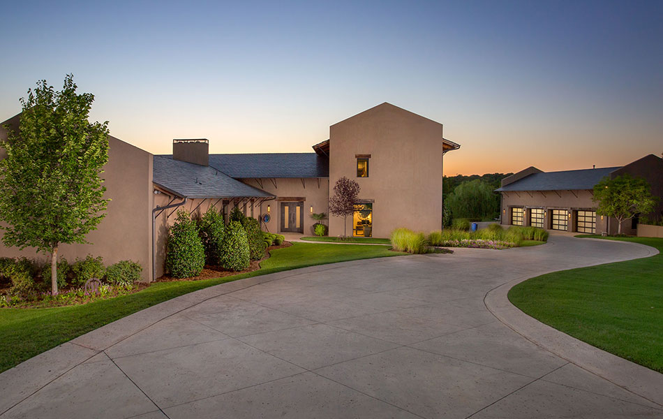 Forest Creek Luxury Home Front