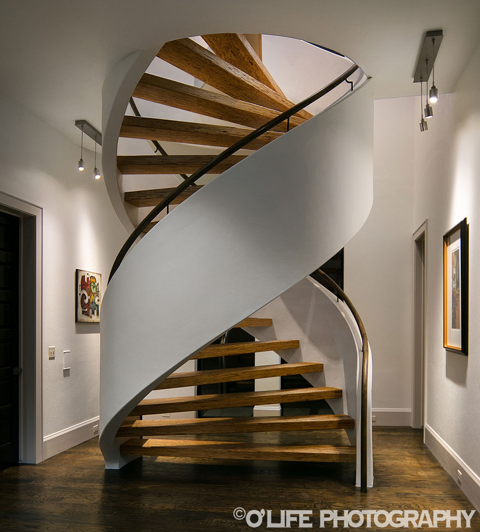 Incredible Staircase In a Luxury Home