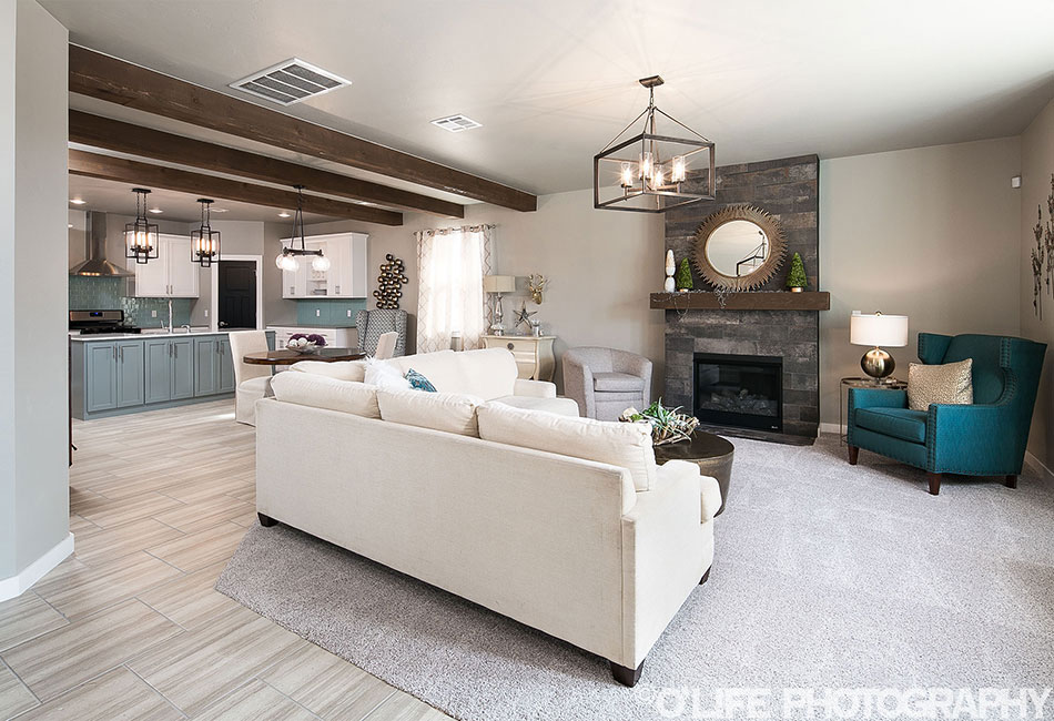 New Home Photo of Living Room In Surrey Hills