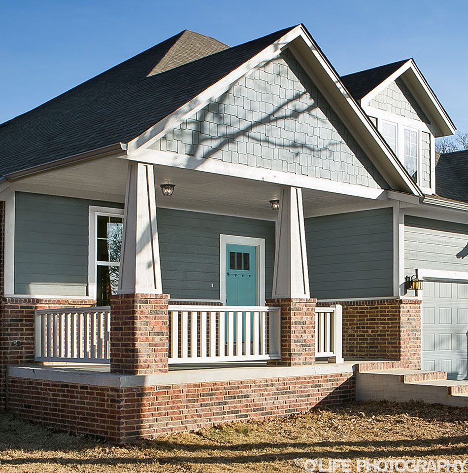 New Home Photo of Porch in Guthrie.