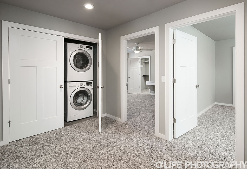 Norman New Home Laundry Area