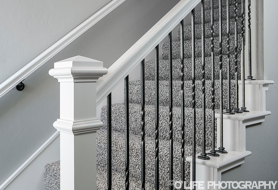 Norman New Home Stair Railings