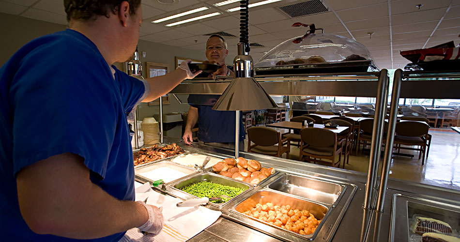 Hospital Lunch Room