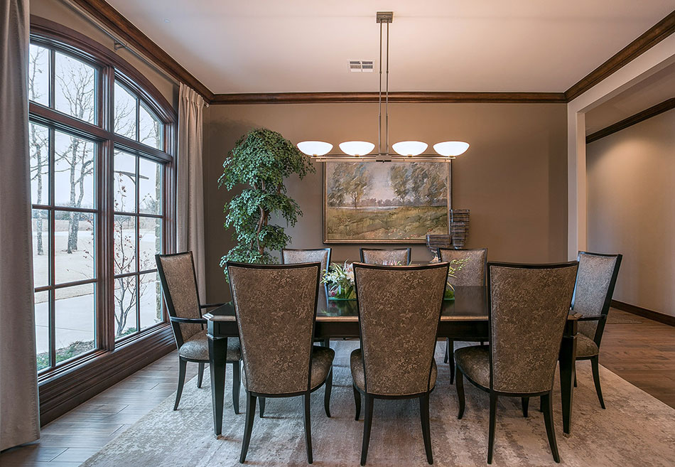 Formal Dining Interior Design Photography
