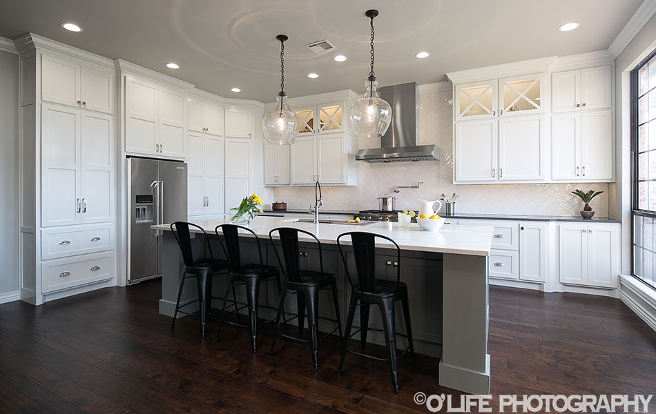 Interior Design Photography of Edmond Kitchen