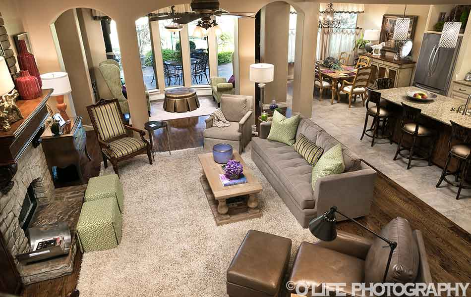 Interior Design Living Room In Rose Creek