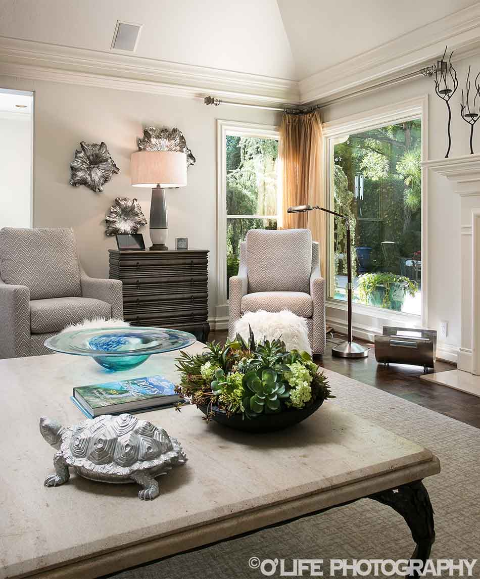 OKC Interior Design Sitting Area